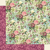 Graphic 45 - Bloom Collection Pack and Bloom Patterns & Solids Paper Pad - 12 x 12 Inch Decorative Papers