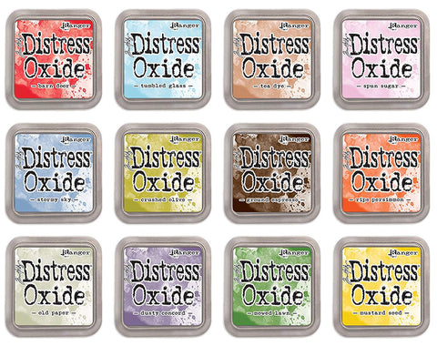 Ranger Tim Holtz Distress - Oxide Ink Pads - July 2018 Release - Set of 12