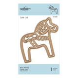 Spellbinders - Dala Horse Etched Dies Folk Art Collection by Lene Lok