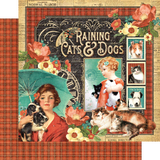 Graphic 45 - Raining Cats & Dogs - Deluxe Collectors Edition