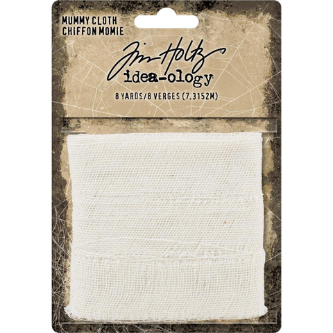 Tim Holtz Halloween 2018 Idea-Ology Mummy Cloth