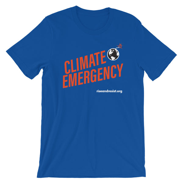 Climate Emergency - Short-Sleeve Unisex T-Shirt