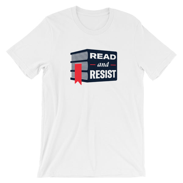 Read and Resist Short-Sleeve Omnisex T-Shirt