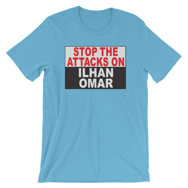 Stop The Attacks On Ilhan Omar - Short-Sleeve Unisex T-Shirt