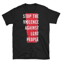 Stop the Violence - black, short-sleeve, unisex t-shirt