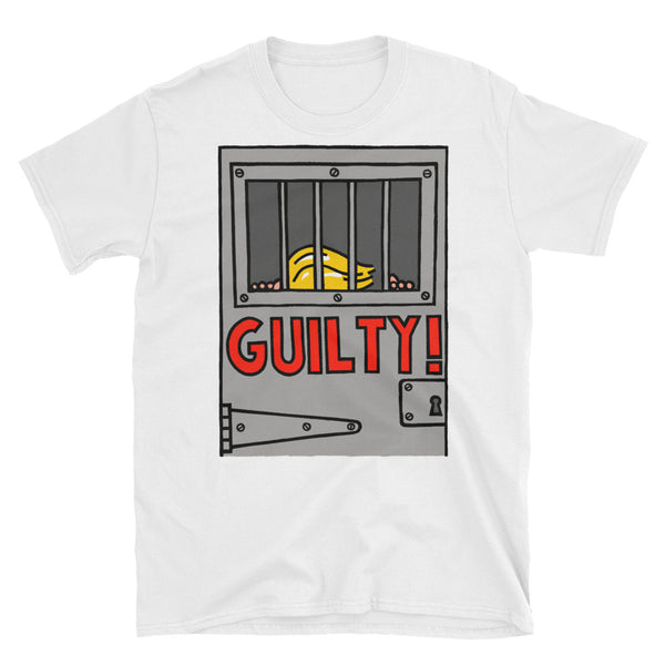 GUILTY! - white, short-sleeve, unisex t-shirt