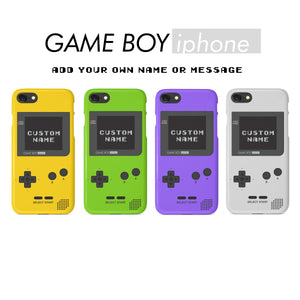 wholesale dealer d1175 fa849 Custom Gameboy Color Retro Phone Case with Your Name | Nintendo ...