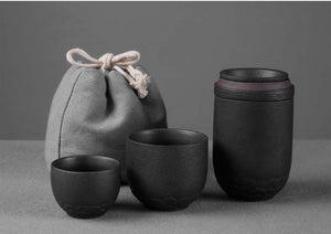 VOYAGER Zen Portable Tea Set w/ Bag