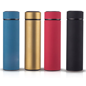 TeaESSENTIALS Brightly Colored Stainless Steel Tea Tumbler Bottle w/ Filter