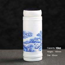Vacuum Sealed Ceramic Travel Mug