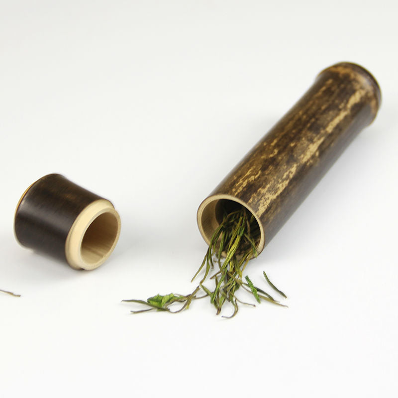 Single Serving Bamboo Storage Tea Tube