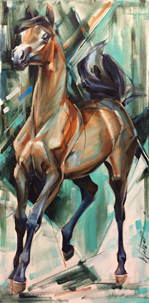 Smooth trot 18x36""