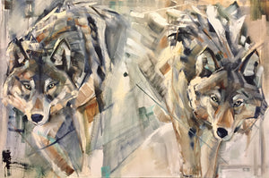 "24x36"" Out come the wolves"
