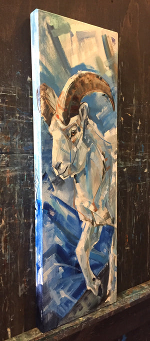 Top of the world 12x36""