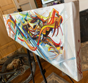 Unraveling Reality 12x48""