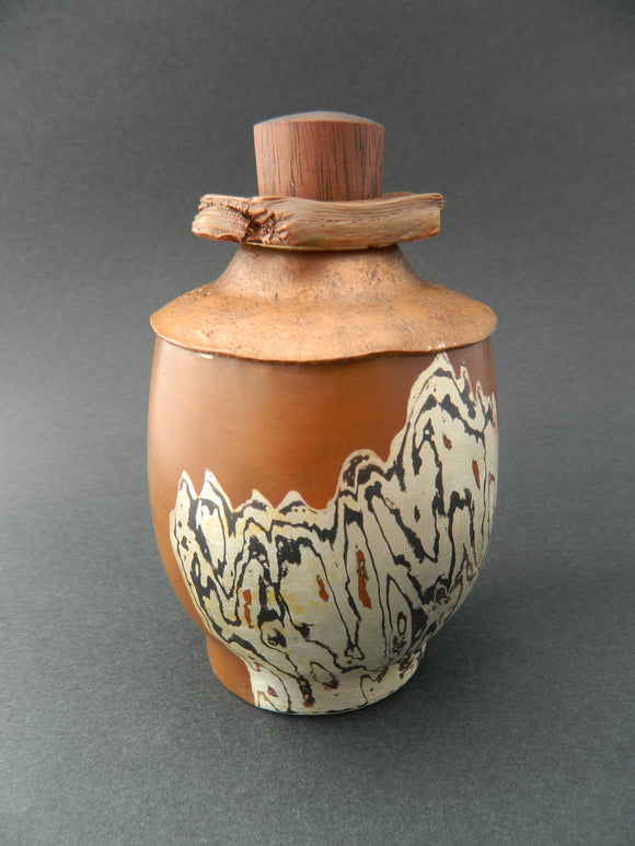 Drifted Tea Jar
