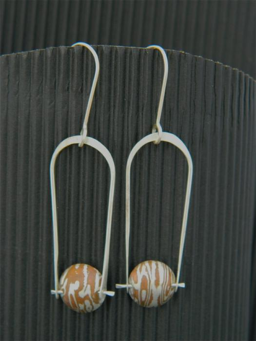 Earrings,- Persimmon Metals Jewelry