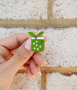 Matcha Mint Julep Pin