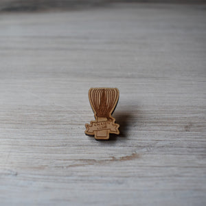 Chasen Club Wood Pin