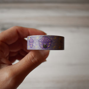 Witchy Cat Gaiwan Washi Tape