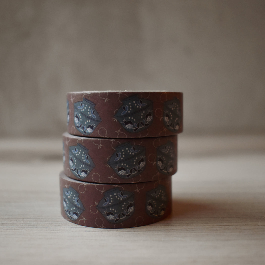 Pomegranate Gaiwan Washi Tape
