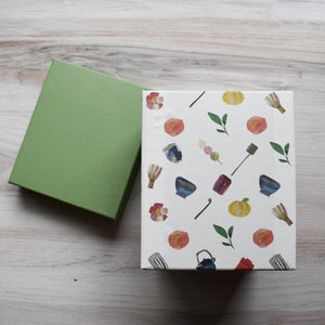 Tea Themed Paper Box