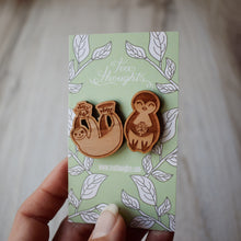 Wood Animal Magnets