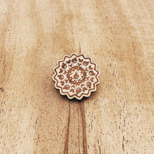 Pomegranate Wood Pin
