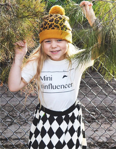 Mini #influencer onesie