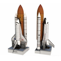 1:150 Space Shuttle Atlantis Space Rocket DIY 3D Paper Card Model Building Sets Construction Toys Educational Toys Model