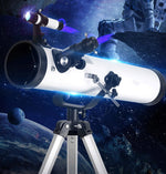 Telescope Astronomic Professional Zoom 875 Times HD Night Vision Deep Space Star View Moon Meteor Shower 1.25 Inch New Upgrade