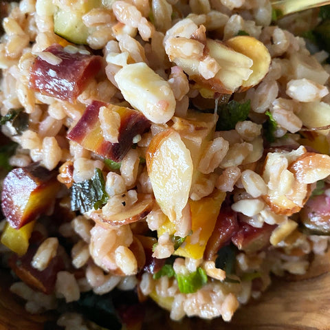 BelleStyle Toasted Heirloom Farro Salad