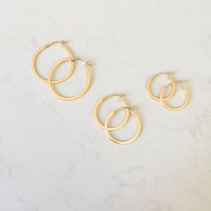 Brio Hoop Earrings