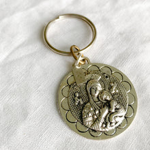 Mother Mary Coin Keychain - BelleStyle
