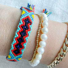 Hand Braided Friendship Multi Colored Bracelet - Bellestyle Blue