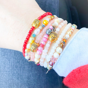 Buddha Stone Bracelet-more colors - BelleStyle