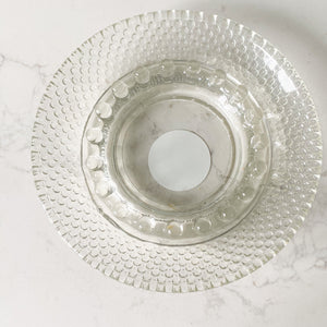 Bellestyle sustainable crystal dot dish jewelry smudge candy candle