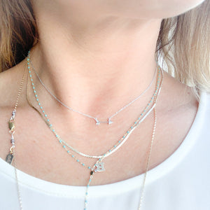 Diamond Arrow Necklace - BelleStyle