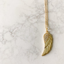 Angelwing Pave Necklace