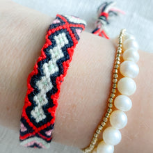 Hand Braided Friendship Multi Colored Bracelet - Bellestyle Black