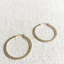 Brio Gold Hoop Earrings - BelleStyle