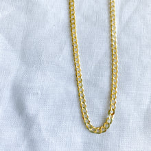Tommy 14K Gold Chain Necklace- BelleStyle 18 inches curb chain unisex