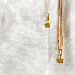 Mini Star Diamond Necklace