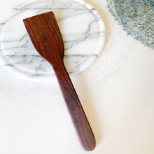 black walnut wood cooking spoon utensil