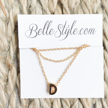 Letter Necklace - BelleStyle