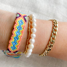 Hand Braided Friendship Multi Colored Bracelet - Bellestyle Coral