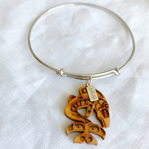 Sustainable Lucky Fish Charm Bracelet - BelleStyle