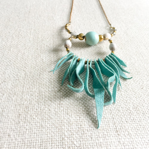 Futa Turquoise Necklace - BelleStyle