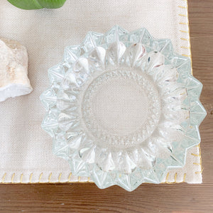 Sunflower Crystal Dish - BelleStyle