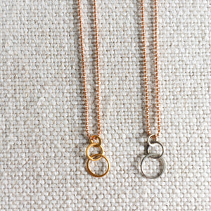 Brighter Rose Gold Necklace